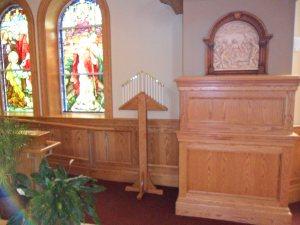 The Tenebrae in the church