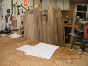 Wood and plans