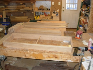 Assembled drawer