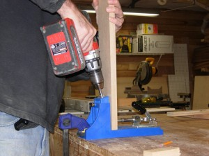 Drilling more pocket holes