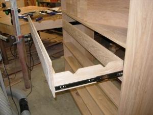 First drawer installed