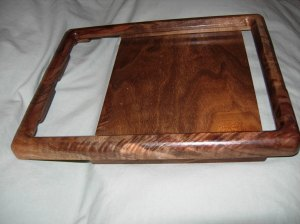 Ipad frame side