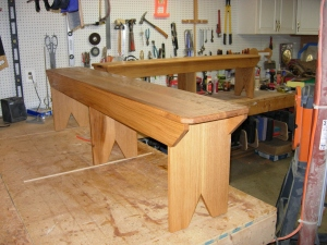 Second bench done