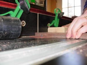 Routing the lap joint