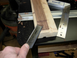 Cleaning the lap joints