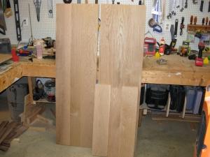 Top, bottom, & sides all glued up.