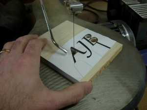 Cutting the inside corners