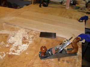 One board down