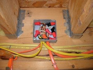 Junction box (after)