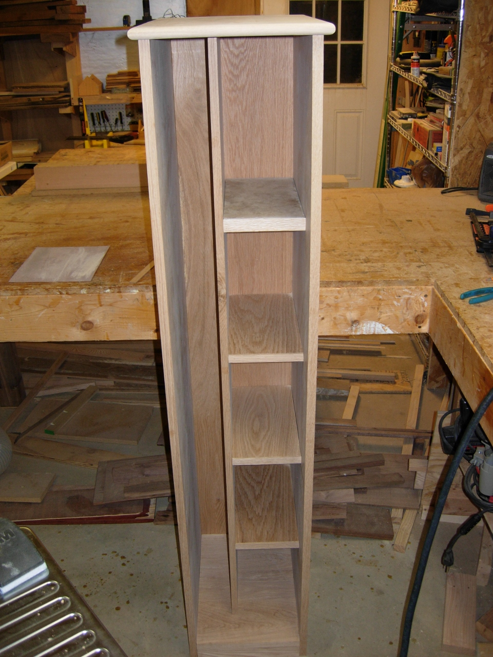 Ironing Board Storage Cabinet Day 6 Midnight Woodworking