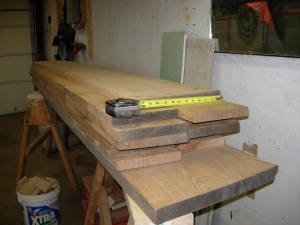 My pile of quarter sawn oak