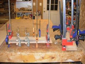 Used up nearly all of my clamps
