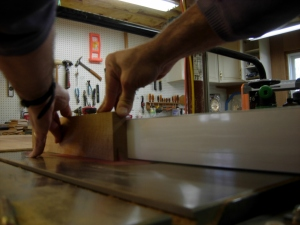 Re-sawing on the table saw