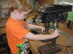 The apprentice plug cutter