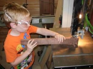 Learning the bandsaw