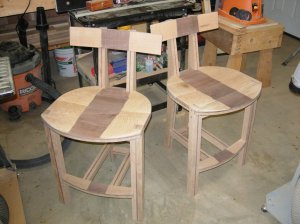 Both chairs assembled