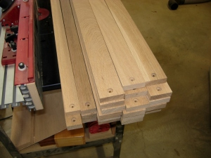 All the boards drilled