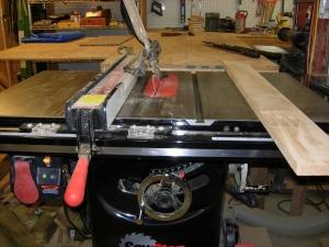Setting the blade angle