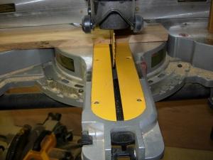 Cutting test sides