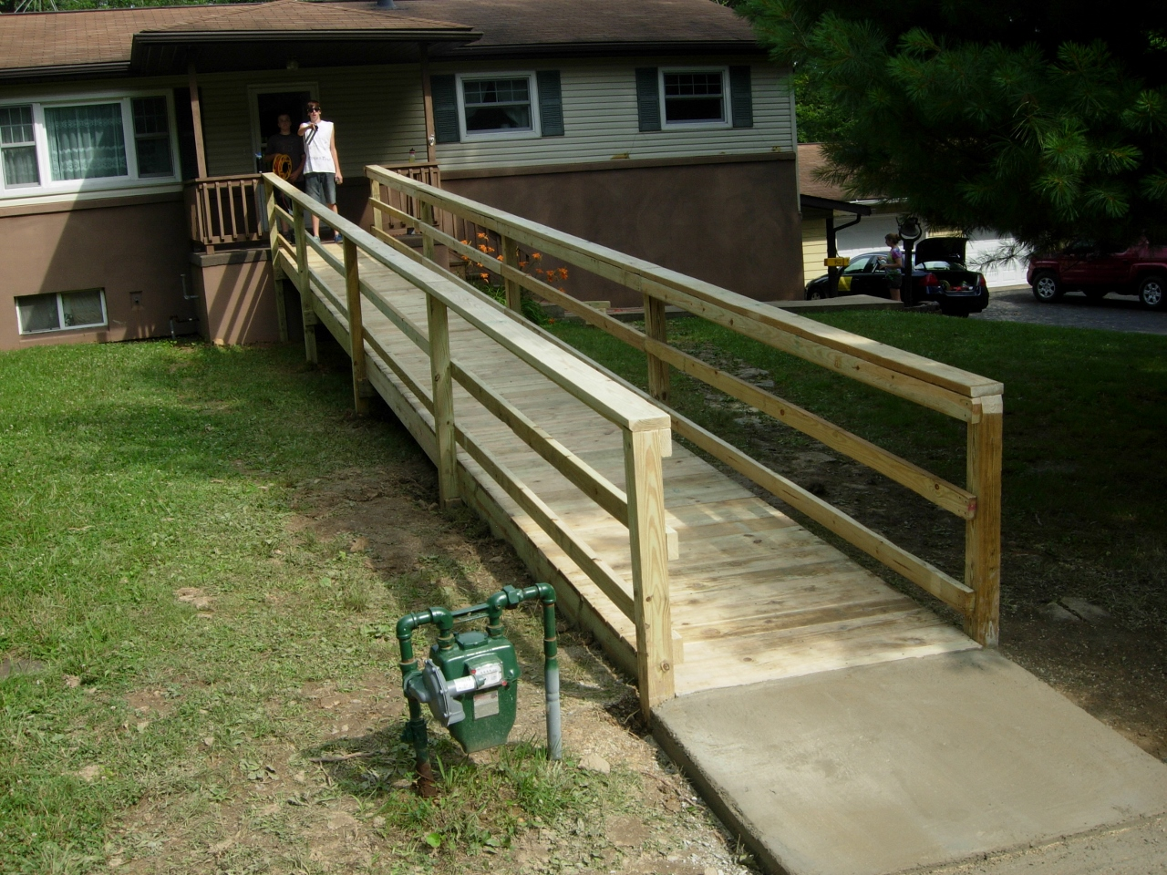 inexpensive wheelchair ramps diy