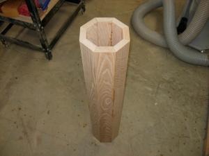The naked column