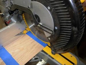 Cutting clean edges