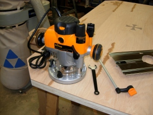 My new Triton 3-1/4 hp router