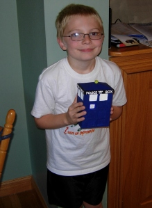 Adam and his Tardis