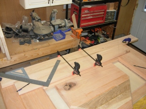 Marking the miters
