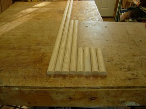 Altar top banding cut