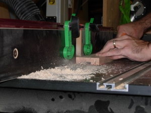 Cutting the dados for the columns