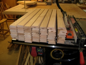 Column blanks cut