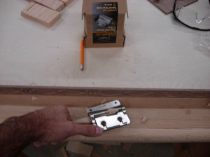 Tapering the dowel