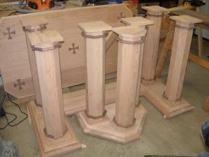 All seven columns trimmed
