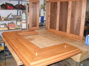 Side panels & altar base