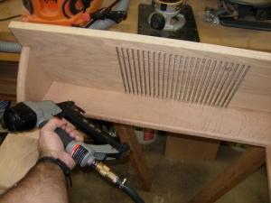 Adding a stiffener