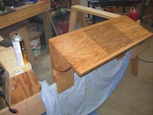 Cedar floor