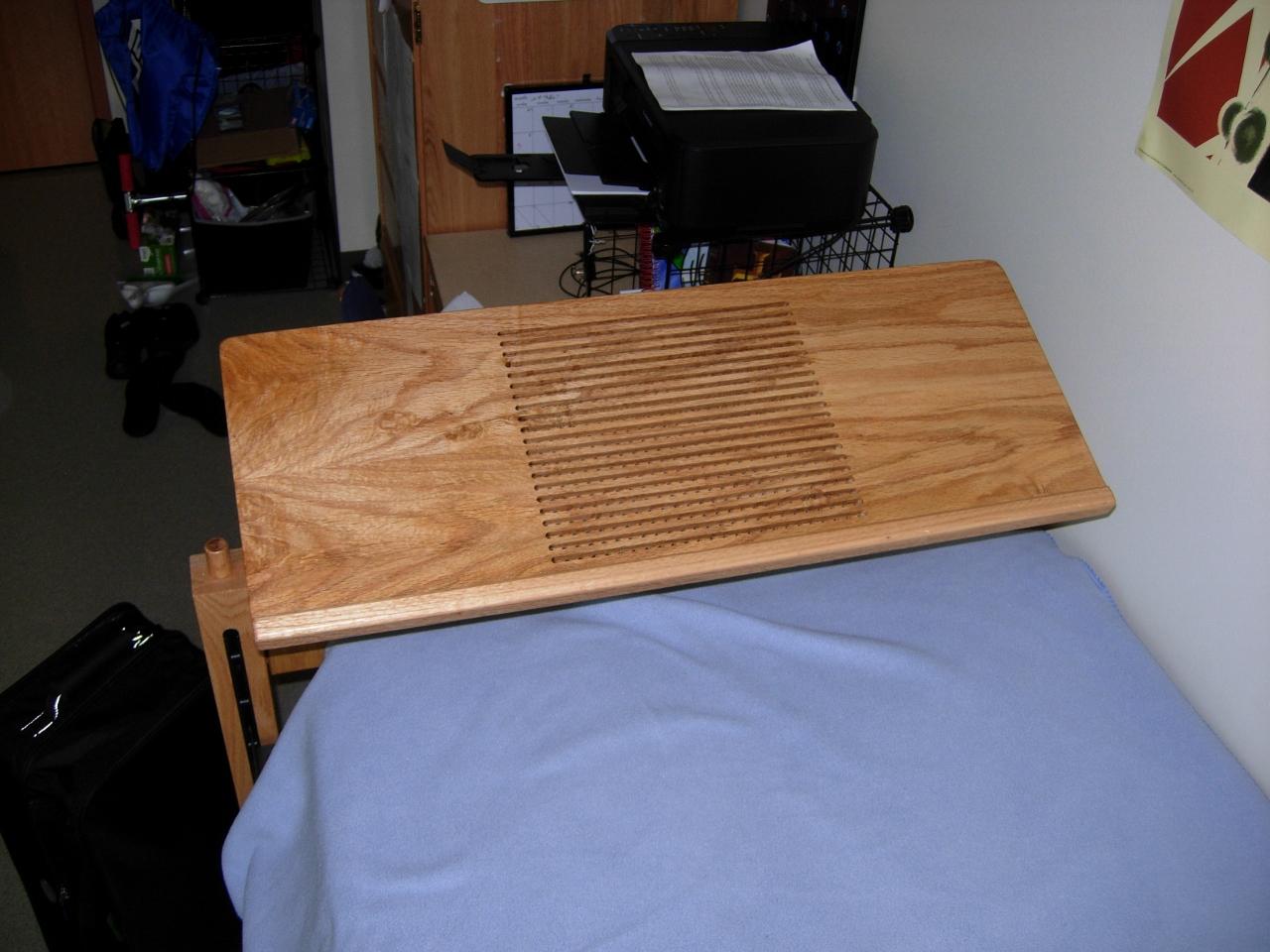 laptop shelf for dorm bed delivered midnight woodworking