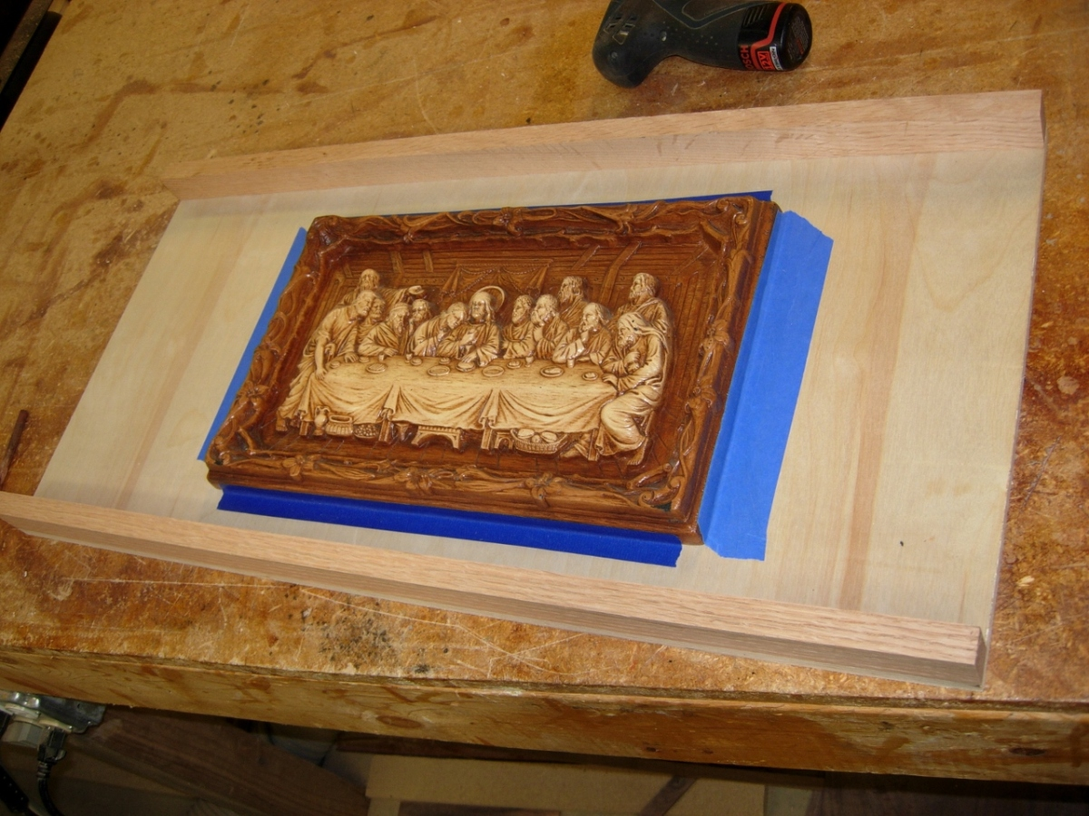 Scanning the last supper midnight woodworking