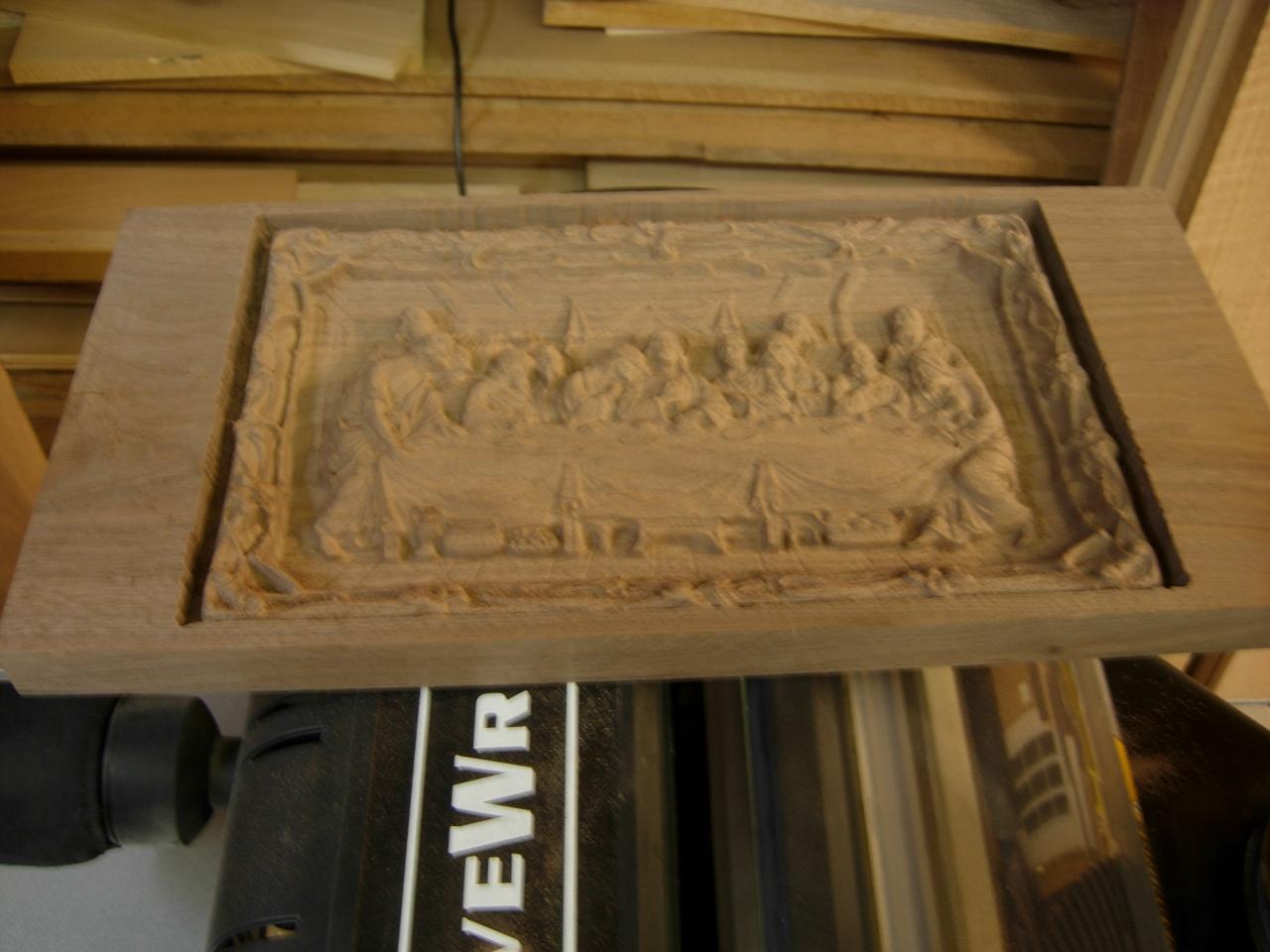Wooden door c last supper religionfacts