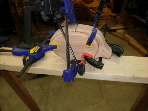 Clamped up piggy