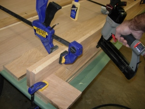 Clamping in a spacer