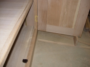 Mounting doors and hardware
