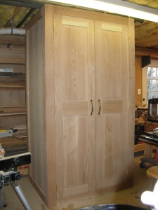 Doors mounted