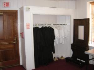 Existing closet