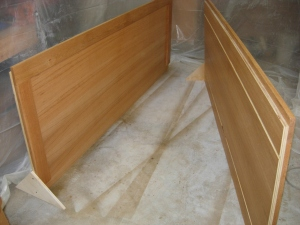 Sides with two coats