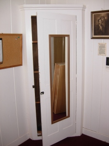 Existing cabinet, to be removed