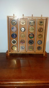 Frame With Coins