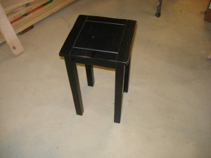 "The original 12"" table"