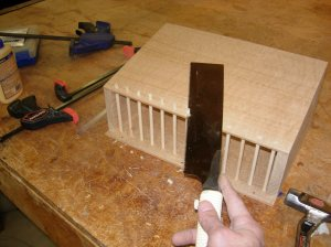 Flush cutting dowels